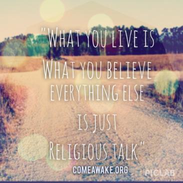 1 religious talk