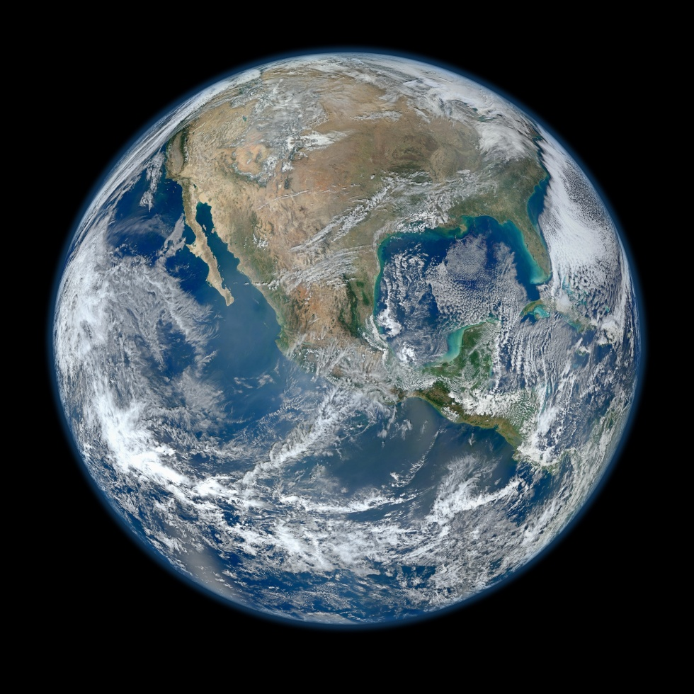 Behold one of the more stunningly detailed images of the Earth yet created. This Blue Marble Earth montage, created from photographs taken by the VIIRS instrument on board the Suomi NPP satellite, shows many stunning details of our home planet.